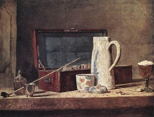 786px-jean_simeon_chardin_-_still-life_with_pipe_an_jug_-_wga04756