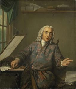 彫刻師ヤン・キャスパー・フィリップスの肖像