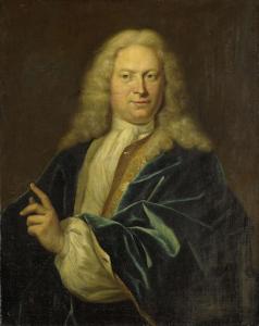神聖ローマ帝国の伯爵、アハティエンホーフェン、デン・ボッシュ、エインズショーテン卿、アムステルダム市長、ヤン・ヘンドリック・ヴァン・ヘームスケルク(ヨハン・ヘンドリック・グラーフ・ヴァン・ヘームスケルク)の肖像
