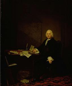アムステルダムの歴史家ヤン・ワーグナーの肖像