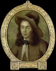 探検家、詩人、アルナウト・ヴァン・オヴェルベーケの肖像