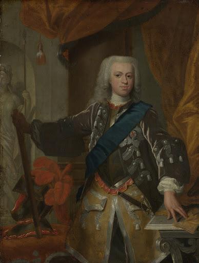 オラニエ家の王子、ウイリアム4世(1711-51)
