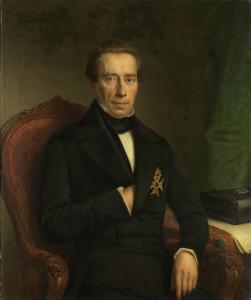 ヨハン・ルドルフ・トーベックの肖像、内務省の担当大臣