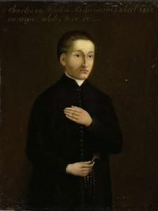 キュラソー島の宣教師、チャールズ・ヴァン・デル・ミューレンの肖像
