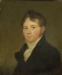 ヨンクヘール・J・デ・ウィッテ・ヴァン・シッテルスの父、美術館の家族の肖像画シリーズの検閲者、ローレンス・デ・ウィッテ・ヴァン・シッテルス(1781-1862)の肖像
