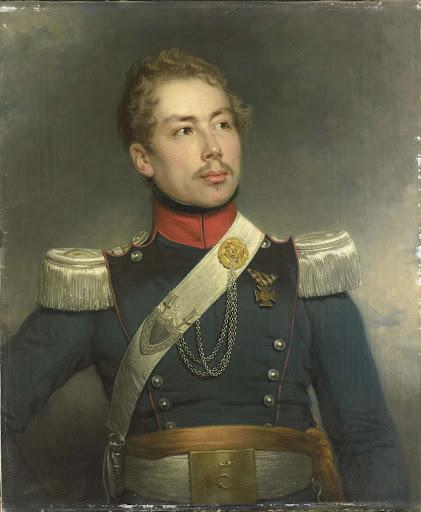 第五ドラゴン連隊の第二中尉、クリスティアン・エドゥアルト・フレイゼル(1812-79)