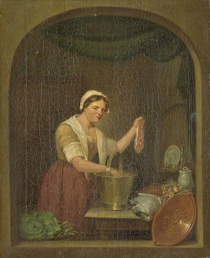 台所の女中