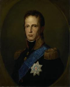 統一されたオランダの王子、後のオランダ王、ウィリアム1世
