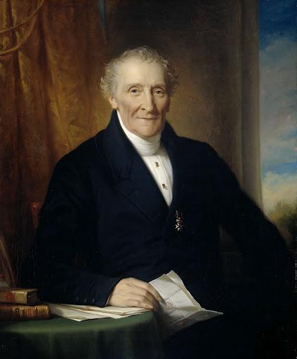 アムステルダムの商人、オランダ鉄道会社の三人の創始者のうちの一人、ロドルフ・ル・シェヴァリエー(1777-1865)