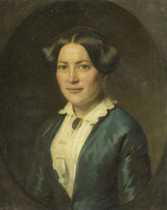 1850年以降ウィレム・フレデリック・ヴェーメイエルの妻、アンナ・シャーロッテ・コッペラール(1821生)