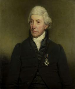 政府の役人、クリスティアーン・エヴェルハルト・ヴァイラント(1746-1829)