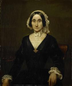 レーデ・ヴァン・オートショールン男爵夫人、W.J.S.ヴァン・アルフェン夫人の肖像