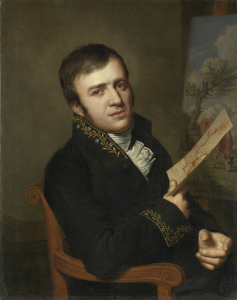 ジャン・バティスト・コーベル二世(1778-1814), 画家, 科学・文学・芸術王立研究所の会員の制服を着ている