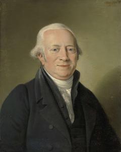 アムステルダムのアートディーラー、ハーグのヒュイス・テン・ボッシュ国立美術館長、コルネリス・セビーレ・ロース(1754-1820)の肖像