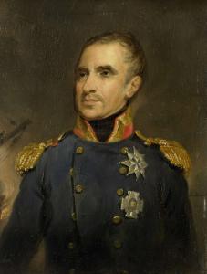 ヨンクヘール・テオドラス・フレデリック・ファン・キャペレン(1762-1824)、海軍中将で1816年のアルジェのオランダ艦隊の指揮官
