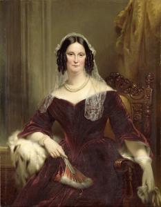デューク・フォンテイン(1800-79)、エイドリアン・ファン・デル・フープの二番目の妻(1834)