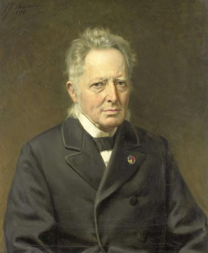 ヤン・ヘームスケルク・アツン(1818-1897)の肖像