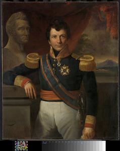 ヨハネス・グラフ・ファン・デン・ボスの肖像、オランダ領東インドの総督