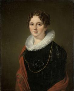マリー・アレべ=ハーケンラス、画家アウグスト・アレべの祖母