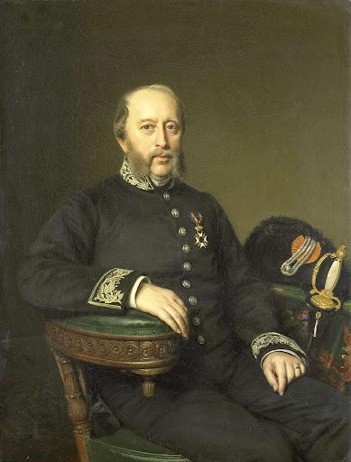 ユトレヒトの執行委員会のメンバー、ヘラルト・ヨハン・フェルローレン・ヴァン・テマート(1809-90)