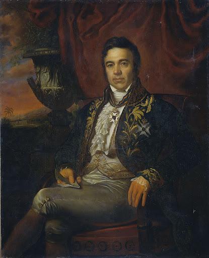 ジャン・クレティエン・ボーの肖像、臨時のオランダ領東インドの総督