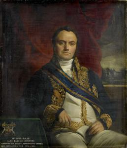 子爵レオナルド・ピエール・ヨセフ・デュ・ビュス・デ・ジジニーの肖像、警察庁長官