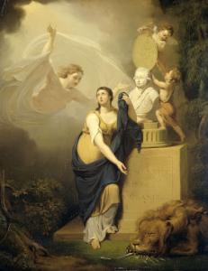オラニエ家の王子ウィリアム5世の死の寓意像、1806年