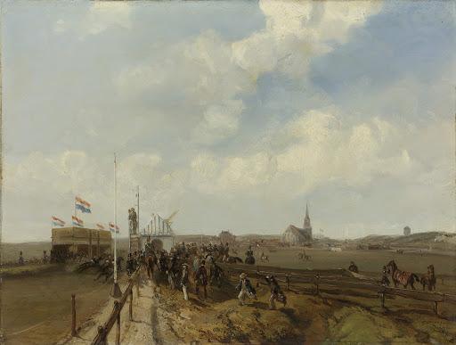 1846年8月3日に開かれたスヘフェニンゲンでの競走場