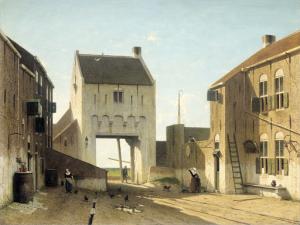 レールダムの街の門