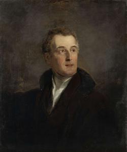 ウェリントンの公爵、アーサー・ウェレスレイの肖像の習作
