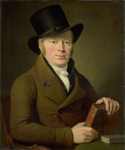 詩人バレンド・キリン・バレンズ(1774-1829)の肖像