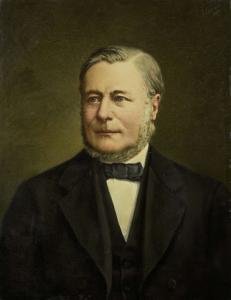 ピーテル・ヘンドリク・ヴァン・ゲルデル(1822-1883)の肖像