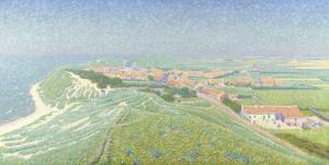 ワルヘレン島のザウテランデの眺め