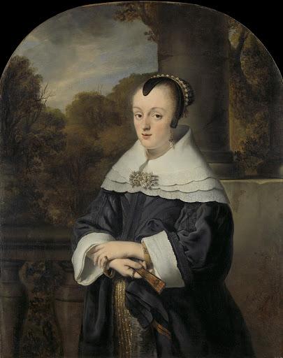 ローロフス・ミュレナエルの妻、マリア・レイ(1630/31-1703)