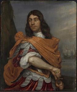 ローマの制服を着た中将コーネリス・トロンプの肖像