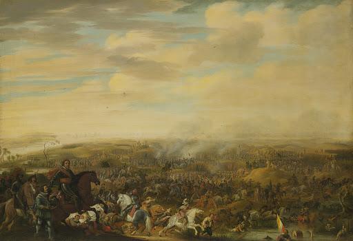 1600年7月2日、ニューポートの戦いでのマウリッツ王子