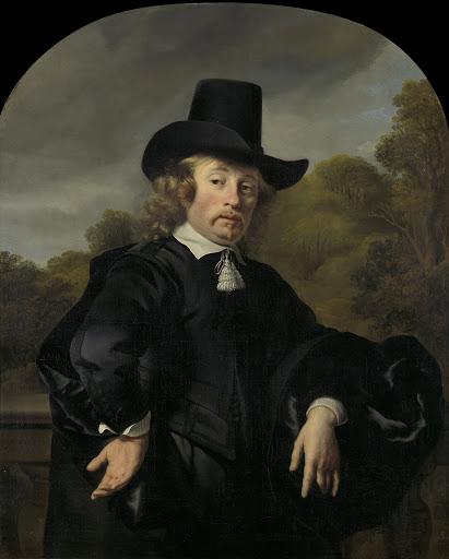 アントワープ路線のアムステルダムへの商業宅配業者、または郵便局長、ローロフ・ミューレナエル(1618/19-1691)