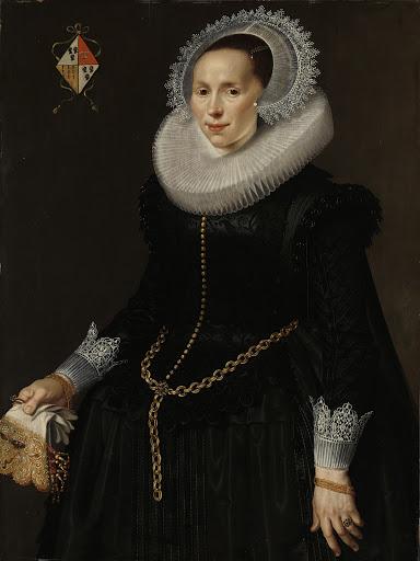 ピーテル・ヴァン・ソンの妻、ヨハンナ・ル・マイレの肖像