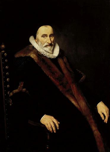 コルネリス・ピーテルス・ホーフトの肖像
