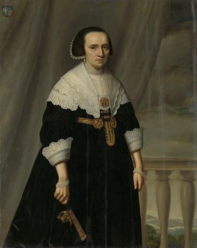 マハテルド・バス(-1681)の肖像