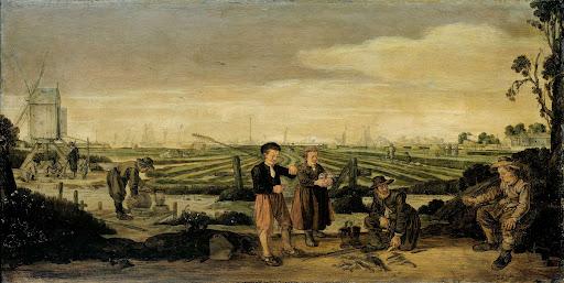 漁師と農夫