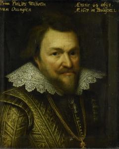 オラニエのフィリップ・ウィリアム王子の肖像