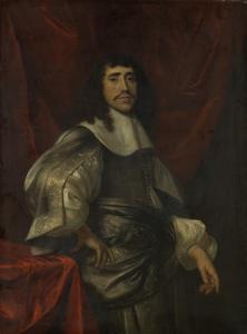 ルクレティア・ボーダーンの二番目の夫、クリストフェル・ヴァン・ハンヘルトと思われる、男の肖像