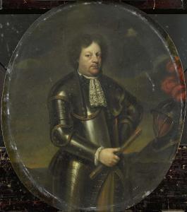 アイルヴァの男爵、希代の将軍と呼ばれたハンス・ウィレム少将の肖像