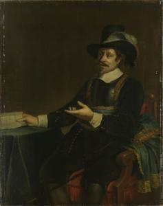 アムステルダム市長、ヤン・ヴァン・デ・ポールの肖像