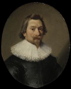コルネリス・サミュエルス・ヴァン・エッシュ(1594/95-1656)の肖像