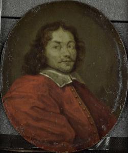 アムステルダムの詩人、テングナヘルと呼ばれた、マティス・ハンスネフの肖像