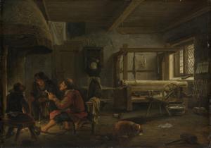 織工の工房