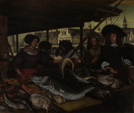 アムステルダムの新しい魚市場