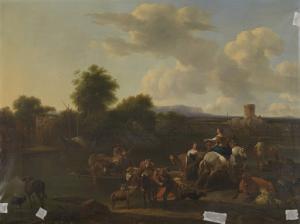 牛の渡し船